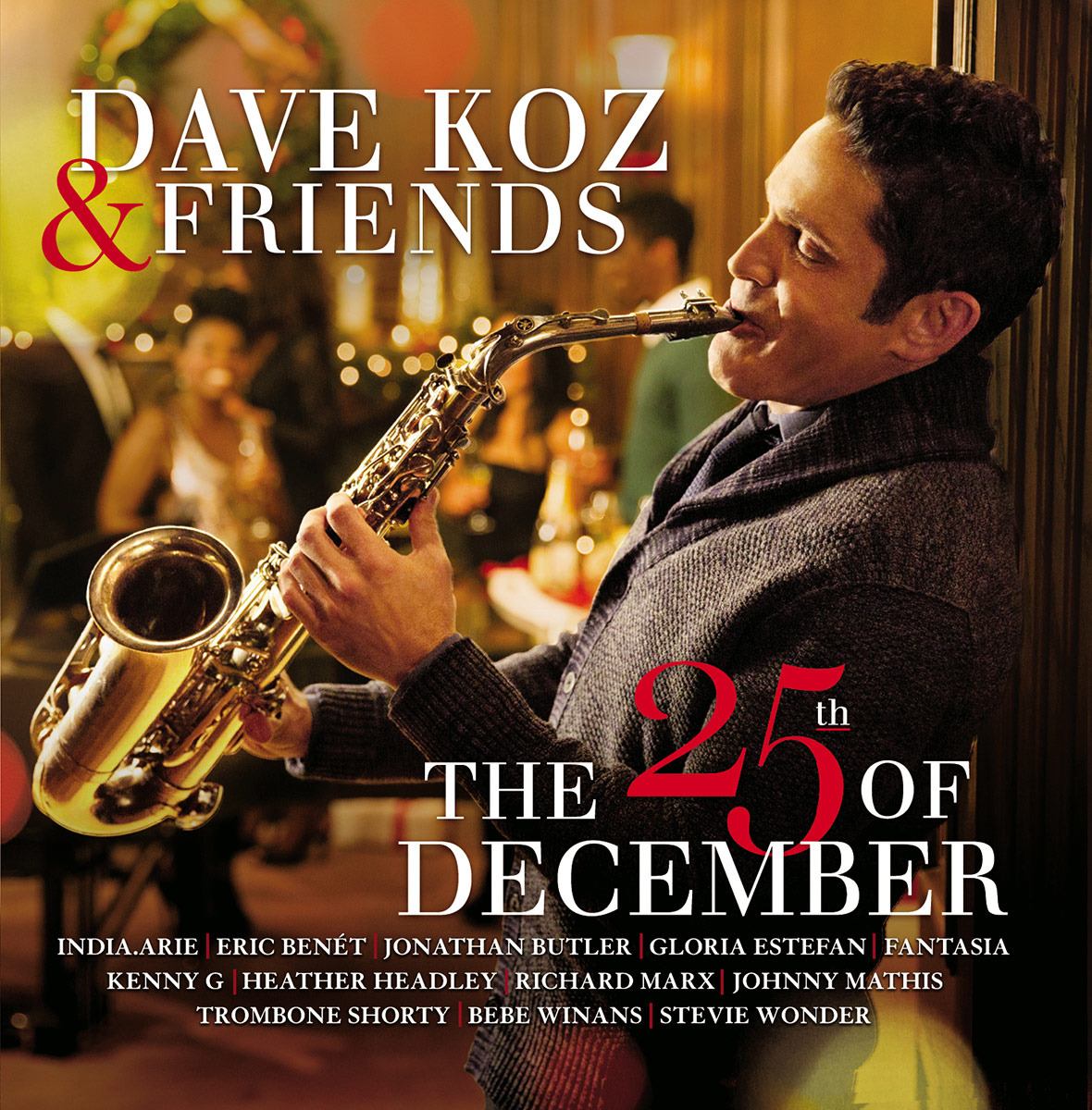 the album is warm and wonderful and features contributions from trombone shorty stevie wonder kenny g and more cover